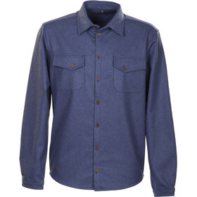 Roughstuff Feldhemd Maglietta a maniche lunghe Uomo blu